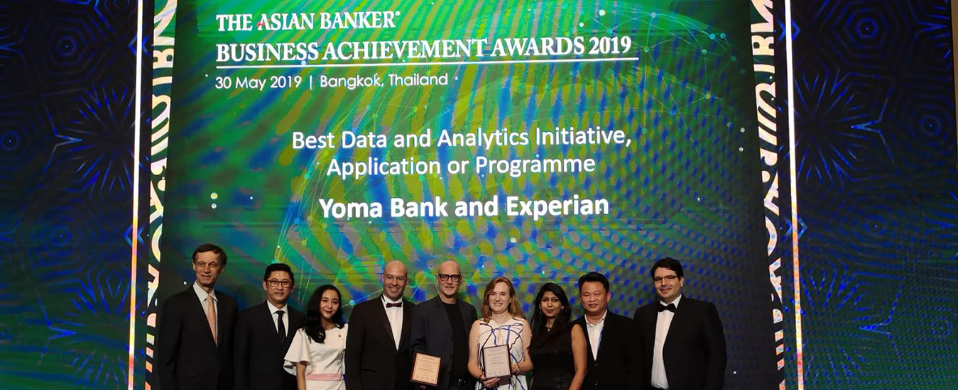 Yoma Bank and Experian awarded the Best Data and Analytics