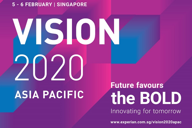 Experian brings world-class technology conference to Singapore  with inaugural VISION2020 Asia Pacific